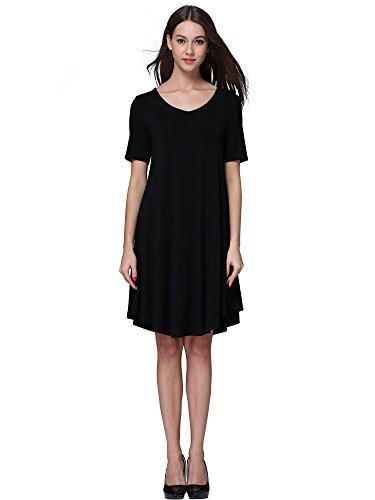 Msbasic Women S Knee Length Loose Fit Classy T Shirt